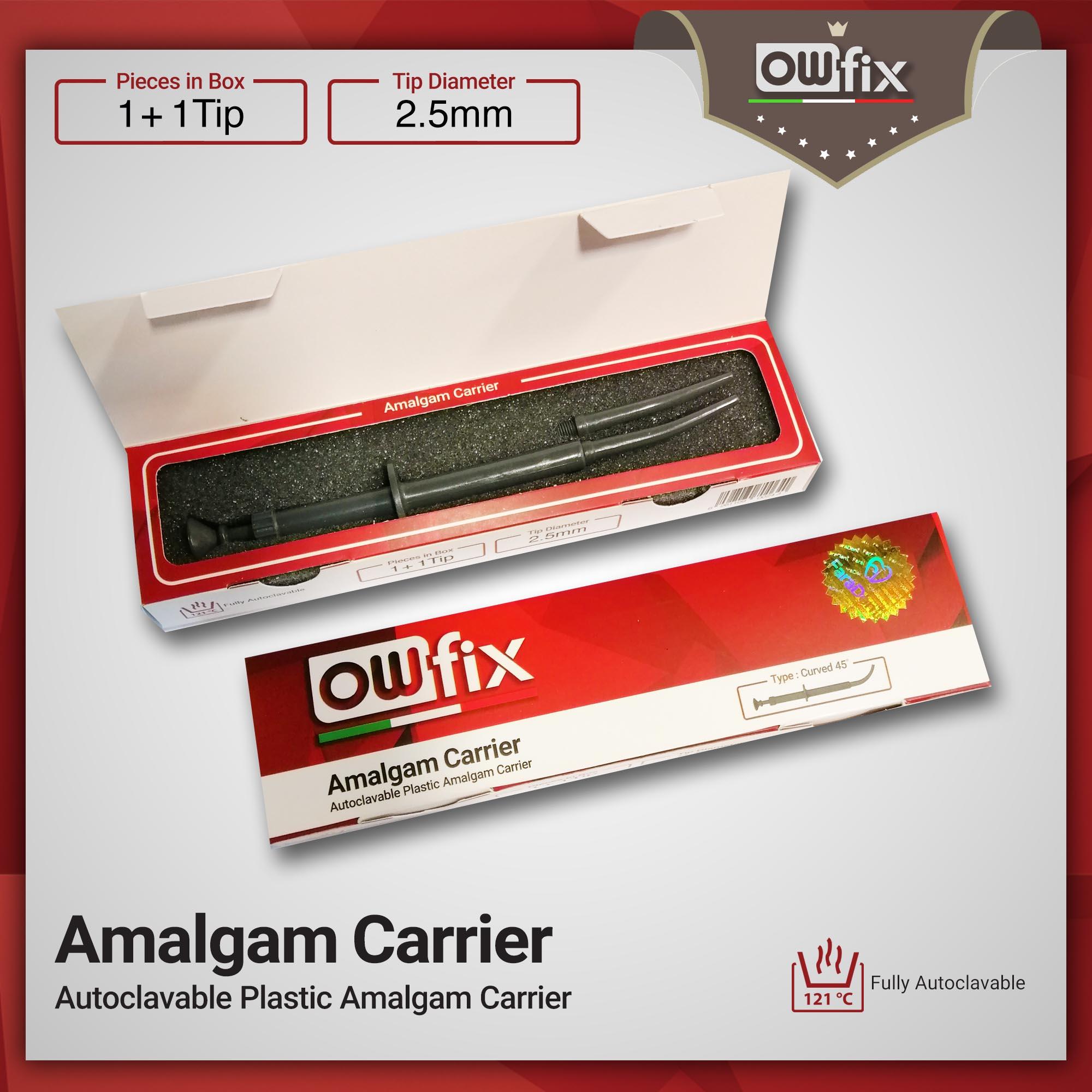 Autoclavable Plastic Amalgam Carrier owfix