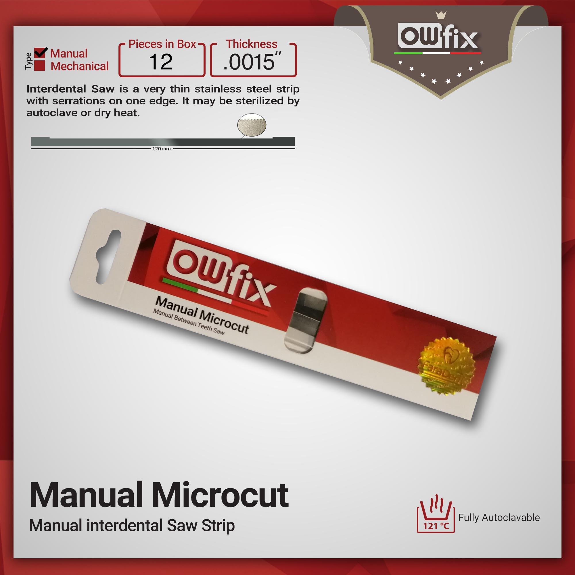 owfix interdental saw strip